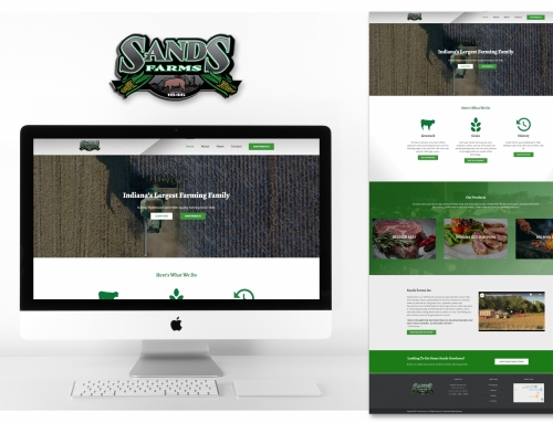 Commercial Farm Web Design